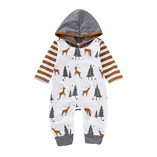 LHWY Baby Overall Winter Kleinkind Kinder Weihnachtsoverall Mädchen -