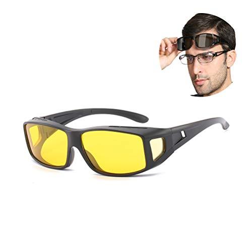 Einsgut GläSer Herren Autofahren Tag Und Nachtsichtbrille Polarisierte Sonnenbrille Brillen Uv400 Schutz FüR Angeln Golf Outdoor Sport FüR MäNner