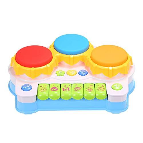 (Masterein Musik-Klavier-Tastatur Drums E-Learning-Spielzeug Spaß Spiele für Kleinkind-Baby-Kind-Lernspiel)