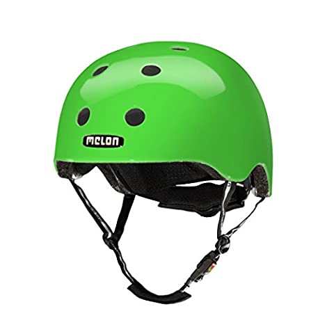 Melon Urban Active Greeneon Uni Helm, Urban Active, Glossy Green, Size 52-58 (Fahrradhelme Günstig)