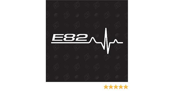 Speedwerk Motorwear E82 Herzschlag Sticker Für Bmw Tuning Fan Aufkleber Auto