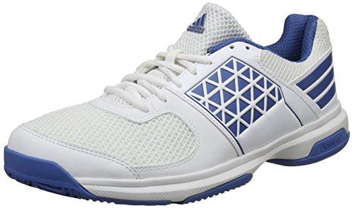Adidas Men's Serves Traroy/Ftwwht Tennis Shoes-8 UK/India (42 1/9 EU)(CK1937)