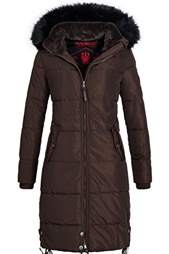 marikoo-coco-extra-long-ladies-winter-puffer-coat-brown-size-s