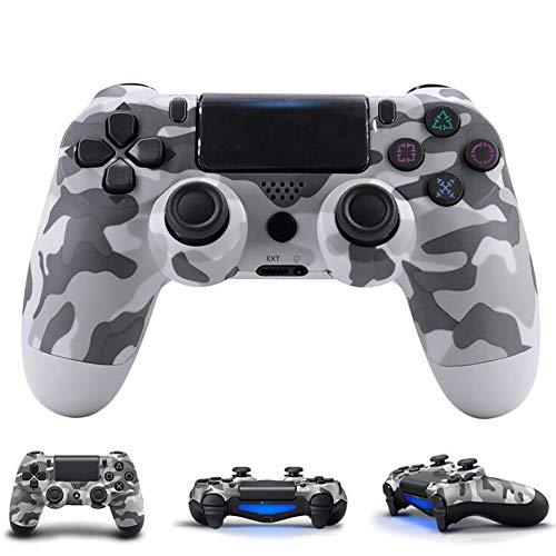 BGAME Wireless Gamepad für PS4, Playstation 4 Controller Slim, Controller mit Dual Vibration, 3,5 mm Headset Ausgang, Touchpad Kompatibel mit Playstation 4/Pro, PC/Windows und TV, iOS etc,1