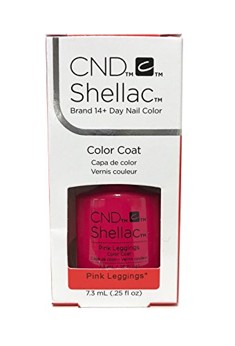 CND Shellac Esmalte de Uñas, 7,3 ml, rosa Leggings