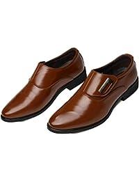 Dilize - Zapatos de cordones para hombre, color rojo, talla 43 EU
