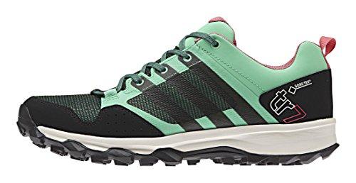 adidas Kanadia 7 Tr Gtx W, Chaussures de Sport Femme, Schwarz Grün (Green Glow S16/Blanch Green S16-St/Super Blush S16)