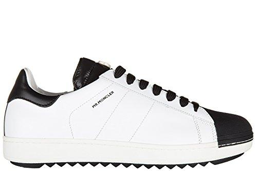 Moncler scarpe sneakers uomo in pelle nuove joachim bianco EU 42 1015400 01678 004