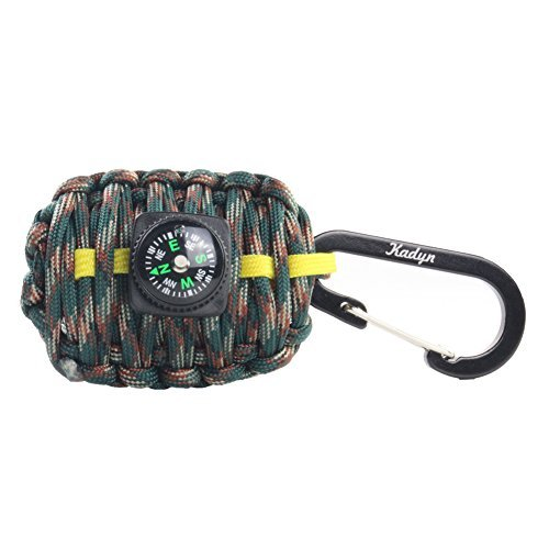 Kadyn Paracord Carabiner Survival Kit by Kadyn
