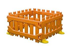 Italveneta Didattica - 30200-Valla Play Pen para área de Juegos Infantiles, Color Naranja