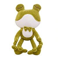 asfrata265 Plush Toy Frog Prince Cartoon Doll Mr. Frog Holding Pillow 60Cm