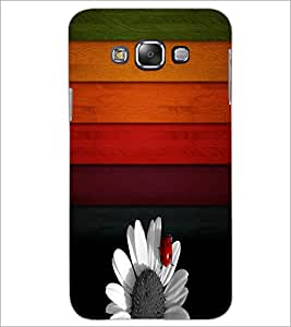 Printdhaba Pattern D-3521 Back Case Cover For Samsung Galaxy E7