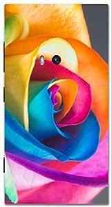 Timpax protective Armor Hard Bumper Back Case Cover. Multicolor printed on 3 Dimensional case with latest & finest graphic design art. Compatible with Nokia Lumia 920 Design No : TDZ-24645