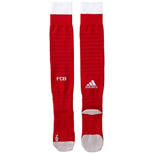 Adidas Bayern de Munich H So Calcetines, Hombre, Rojo (Rojfcb/Blanco / Rojpot), 5