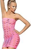Fever Women's Seamless Mini Dress Neon Cut Out