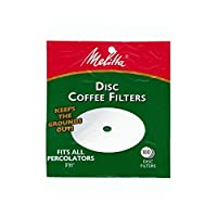 Melitta White Disc Percolator Coffee Filters