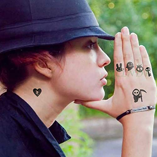 poräre Tattoo Aufkleber Harry Potter Englischen Buchstaben