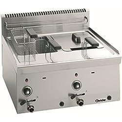 Bartscher Freidora a gas 600, A600, 2x8L