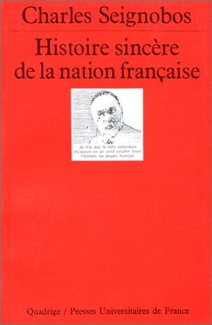 Histoire sincère de la nation française