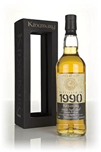 Auchroisk 27 Year Old 1990 - Kingsbury Single Malt Whisky by Auchroisk
