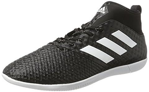 adidas Ace 17.3 Primemesh In, Chaussures de Football Homme, Noir (Core Black/Footwear White/Night Metallic), 48 EU