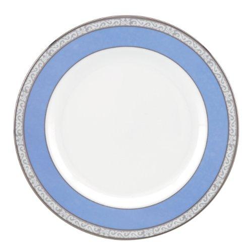 Lenox Marchesa Couture Butter Teller, Saphir Plume Bone China Bread Butter Plate