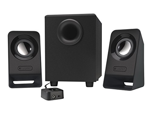 Logitech Z213 2.1 Multimedia Speakers (Black)
