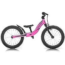 Monty 202 Bicicleta, Unisex niños, Rosa, ...