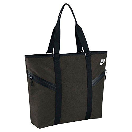Nike Azeda Tote Premium Sporttasche, Damen gris (sequoia / black / black)
