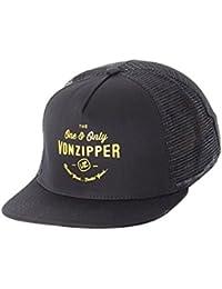 Von Zipper Black One and Only Trucker Cap 98174c42b842