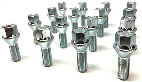 Spot On Nuts and Bolts Boulons M12 x 1,5 pour Jantes en Alliage. Siège Conique 17 mm hexagonale 26 mm de Longueur.