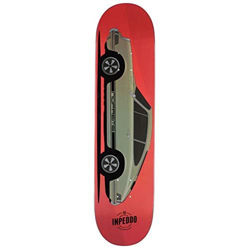 "Inpeddo x Nopreme Skateboard Deck Fast Classics 1969 Sixtynine 7.75\"" (red)"