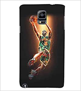 SAMSUNG GALAXY NOTE EDGE PLAYER Designer Back Cover Case By PRINTSWAG