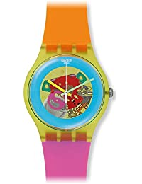 Swatch Unisex SUOJ101 Originals Analog Display Swiss Quartz Two Tone Watch