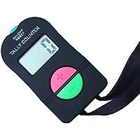 Samtlan Elektronische Digital Handzähler Manuell Klicker Finger Digit Marker addieren/subtrahieren Zähler Tally Counter