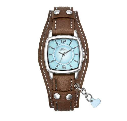 s.Oliver Damen-Armbanduhr Analog Quarz SO-1339-LQ
