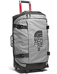 The North Face Rolling Thunder - Bolsa de viaje unisex, color gris / verde, talla 19
