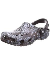 a2dec895b49be Crocs - Clogs Classic Seasonal Graphic Black Tropical