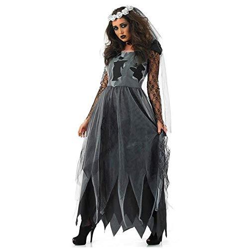 LBFKJ Rollenspiele, Damen Spiel Uniform, Karneval Halloween sexy Teufel Kostüm Vampir Braut Kostüm,XL