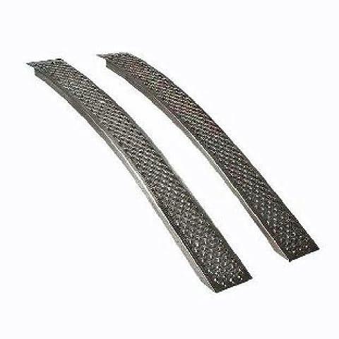 Rampes courbées 2 m - Max 400 Kg par paire