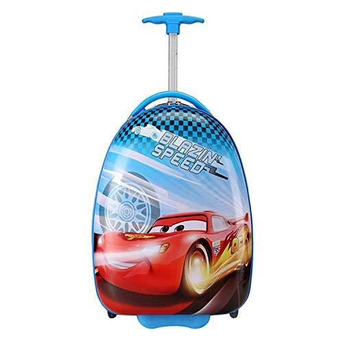 Valigetta per bambini valigia a forma di valigetta cartone animato valigia , Car mobilization_18 pollici