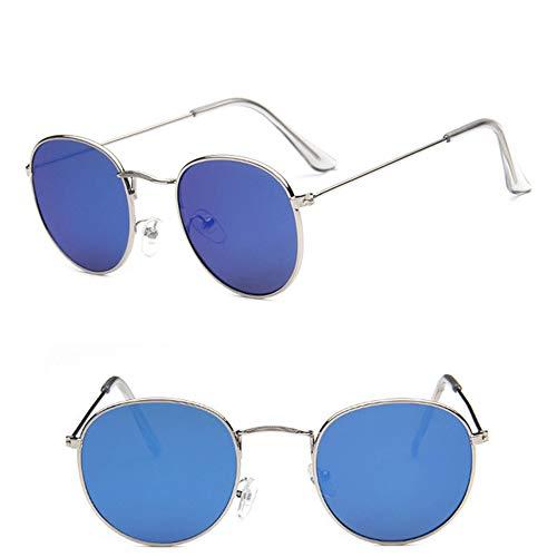 Wang-RX Vintage ovale klassische Sonnenbrille Frauen/Männer Brillen Street Beat Einkaufsspiegel modische Oversize klare Linse