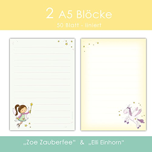 2 Schreibblock / Briefblock