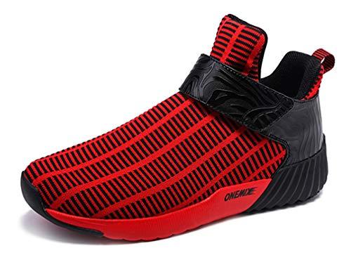 Dilize-OneMix ,  Unisex Erwachsene Laufschuhe, Rot - schwarz/red - Größe: 43