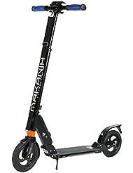 MAKANIH® Scooter Luftreifen-Roller für Erwachsene City Big Wheel Aluminium Kickscooter Tretroller 200mm für Kinder ab 12 mit Doppelfederung