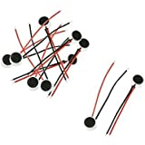 Anonymous ™ 10 Pcs 6mm x 3.5mm 2 Wire Cable MIC Capsule Electret Condenser Microphone