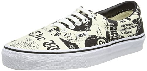 Vans Era, Baskets Basses Mixte Adulte Beige (Newsprint/White)