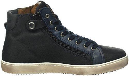 Bisgaard Shoe with lace 31814216, Unisex-Kinder Hohe Sneaker Blau (605 Blue)