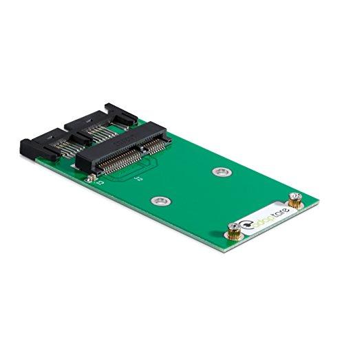 Preisvergleich Produktbild adaptare 40355 Adapter mSATA-SSD an Micro-SATA-Controller 7+9-polig