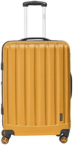 Packenger Velvet Koffer, Trolley, Hartschale 3er-Set in Orange, Größe M, L und XL - 2
